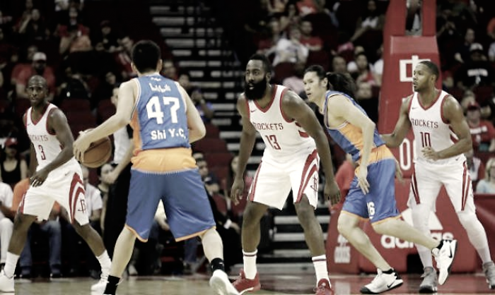 NBA preseason - Houston in scioltezza, +62 sui Shanghai Sharks