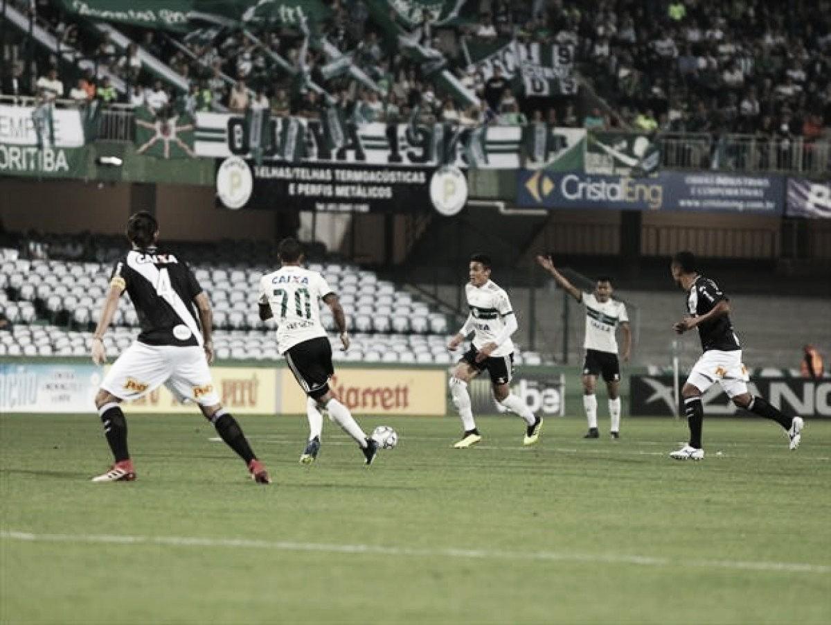 Em jogo de poucas chances, Coritiba e Ponte Preta empatam sem gols