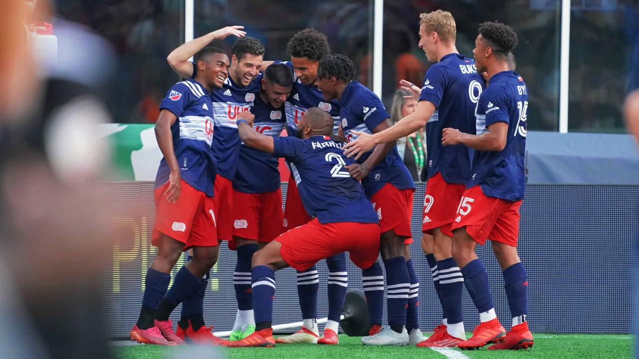 New England 2-1 Philadelphia: Bou goal the difference as Revs edge Union