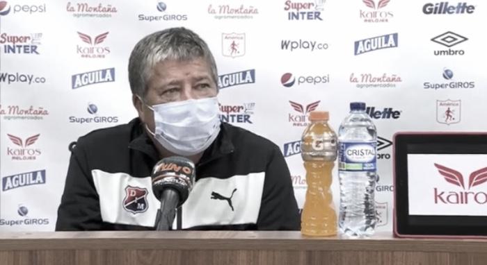 """Hernán Darío Gómez: """"Nosotros venimos con dificultades y hemos hecho un trabajo táctico importante"""""""