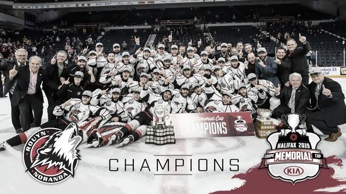 Los Huskies se llevan su primera Memorial Cup