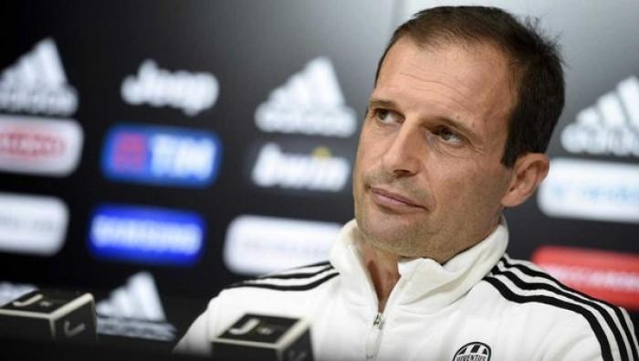 """Juventus, Allegri: """"Col Milan ci giochiamo un bel pezzo di Scudetto"""""""