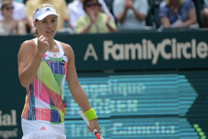 WTA Charleston: Angelique Kerber Eases Into Semifinals After Solid Performance Against Irina-Camelia Begu