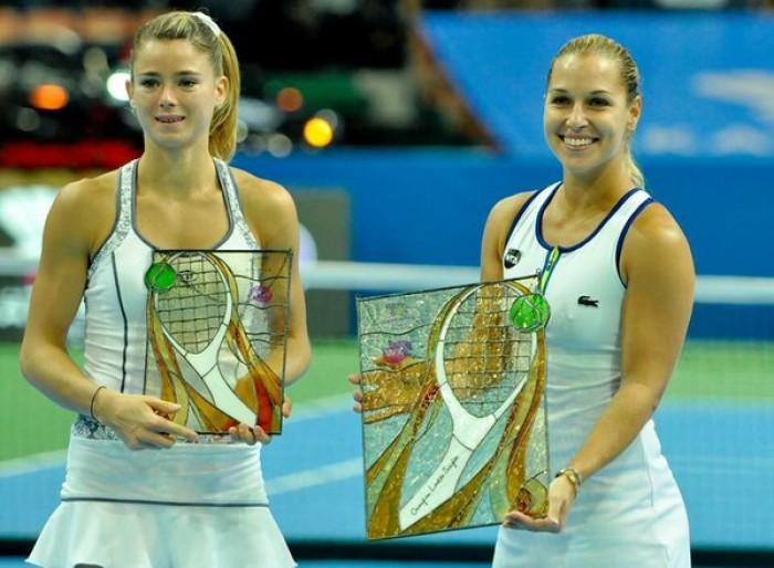 WTA Katowice:Dominika Cibulkova Dominates in Resounding Victory Over Camila Giorgi