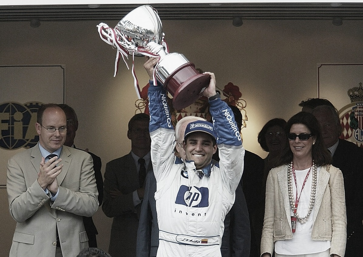 Juan Pablo Montoya, el príncipe de Mónaco