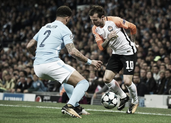 Resumen Shakhtar Donetsk 2 vs 1 Manchester City en Champions League 2017