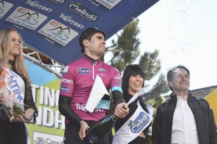 Giro del Trentino - Melinda 2016, 2° tappa: in quota assolo di Landa, successo e maglia
