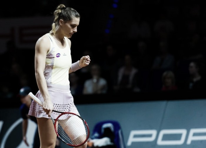 WTA Stuttgart: Andrea Petkovic moves on after straight sets win over Kristina Mladenovic