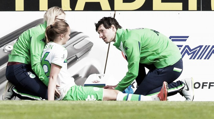 Hansen out for the season, Goeßling also sidelined for Wolfsburg