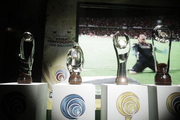 Presentados los trofeos del fútbol colombiano