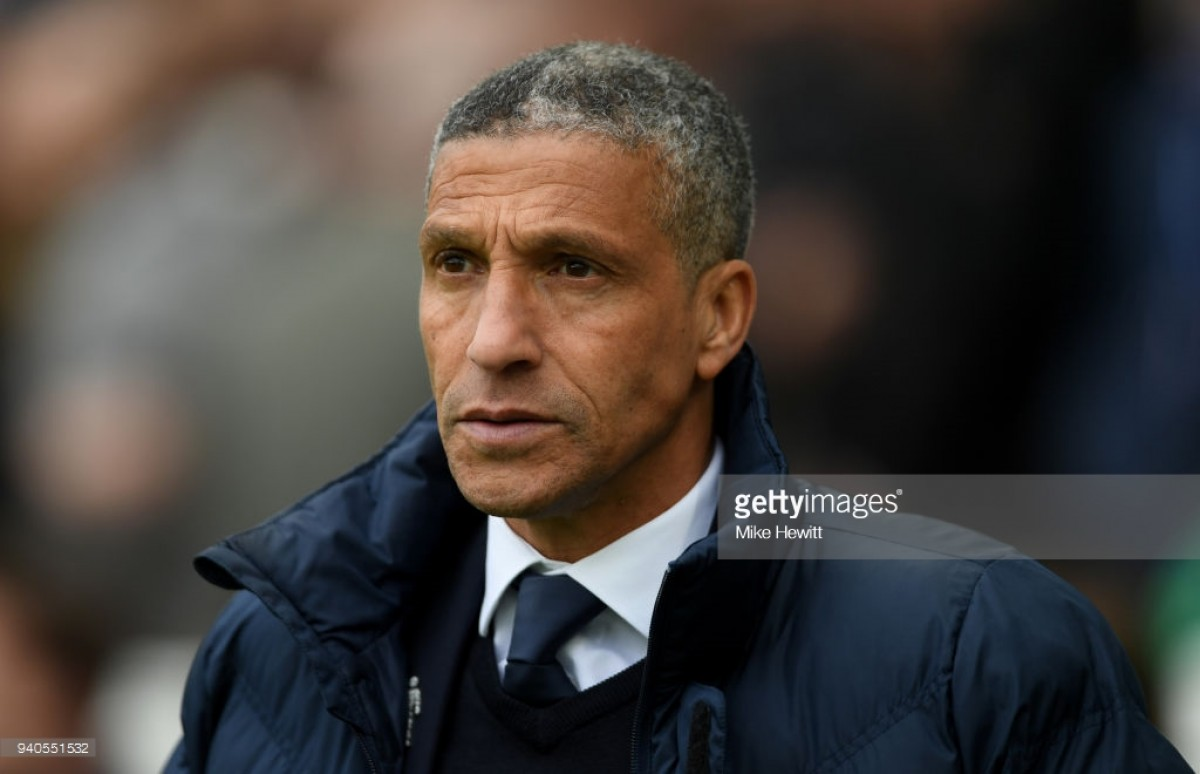 """Chris Hughton treating all remaining fixtures as """"the biggest"""" for Brighton"""