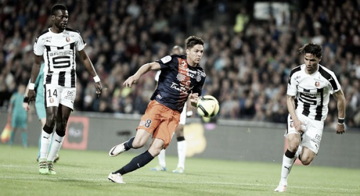 Montpellier 2-0 Rennes: Visitors out of European spot after a poor performance