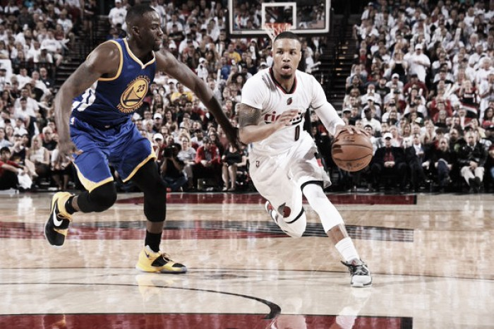 Lillard anota 40 pontos, Portland Trail Blazers vencem Golden State Warriors e diminuem placar