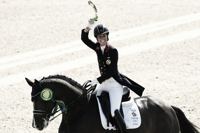 Rio 2016: Charlotte Dujardin retains Olympic title in Individual Dressage