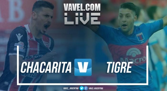 Chacarita y Tigre igualaron bajo una lluvia torrencial