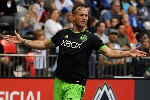 Score Seattle Sounders FC vs Sporting Kansas City in 2015 MLS Regular Season (0-0)
