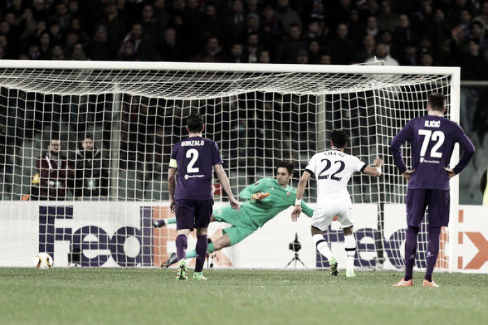 Fiorentina 1-1 Tottenham Hotspur: Chadli penalty ensures Spurs head into second leg with all important away goal