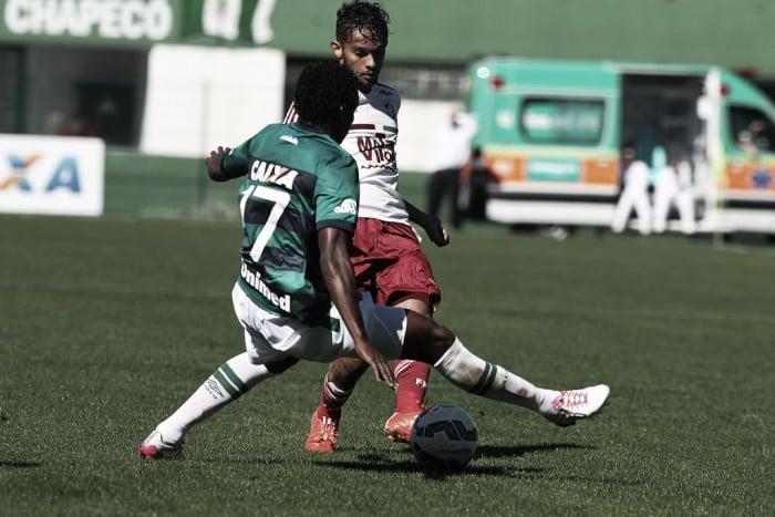 Fluminense busca quebrar invencibilidade da Chapecoense para embalar no Brasileirão