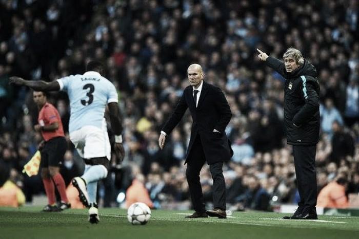 Post Manchester City-Real Madrid, le reazioni di Pellegrini e Zidane