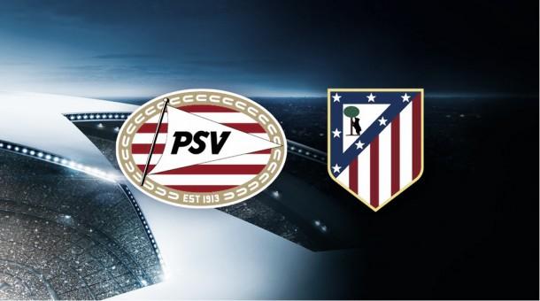 Atlético Madrid, rival del PSV en Champions
