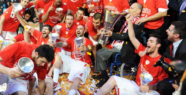 Olympiacos campione d'Europa