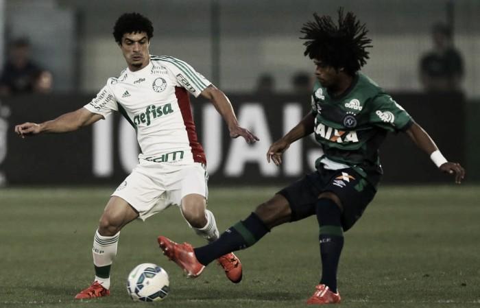 Goleado na Arena Condá em 2015, Palmeiras busca retomar liderança diante da Chapecoense