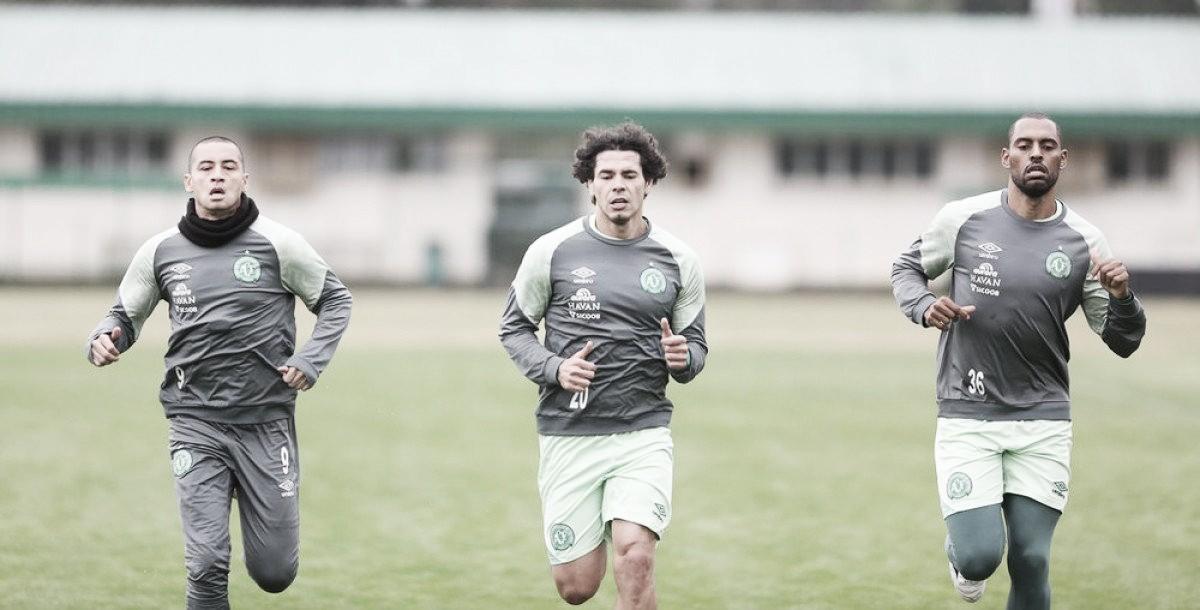Mais equilibrada fisicamente, Chape se prepara para amistoso com San Lorenzo