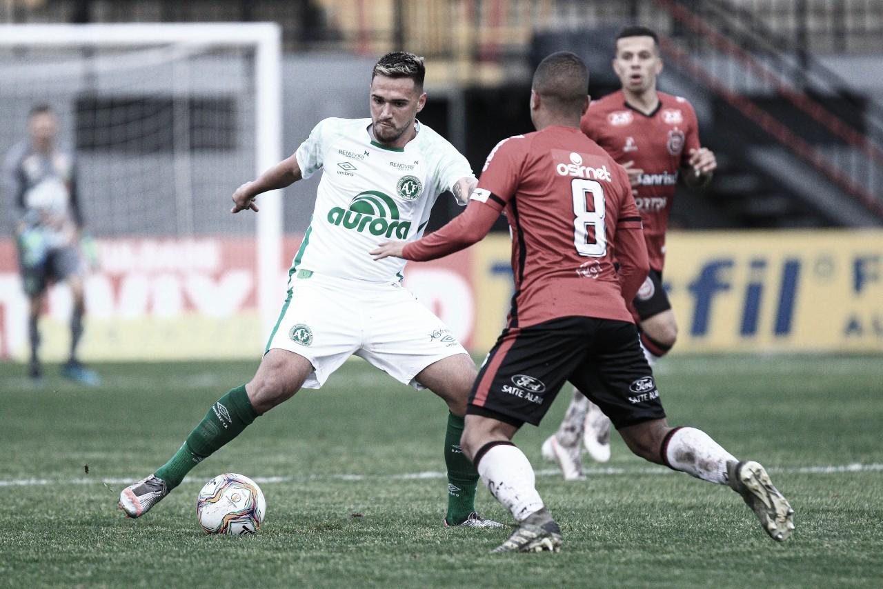 Perto do acesso, Chapecoense recebe Brasil de Pelotas na Série B