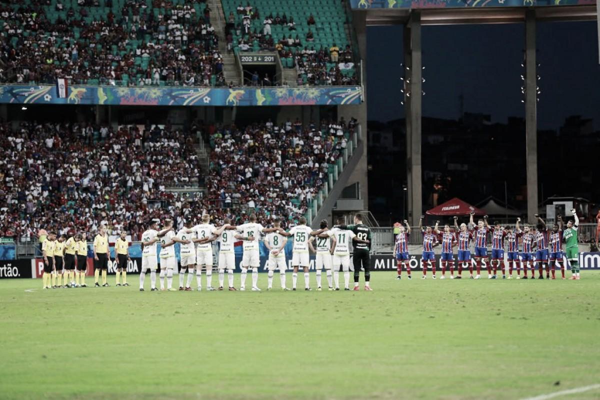 Chapecoense e Bahia medem forças em duelo da parte de baixo da tabela