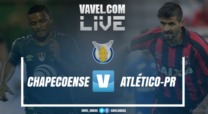 Resultado Chapecoense x Atlético-PR no Campeonato Brasileiro 2017 (1-1)