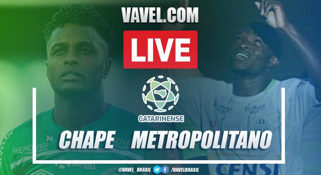 Gols e melhores momentos de Chapecoense 5 x 0 Metropolitano pelo Campeonato Catarinense 2021