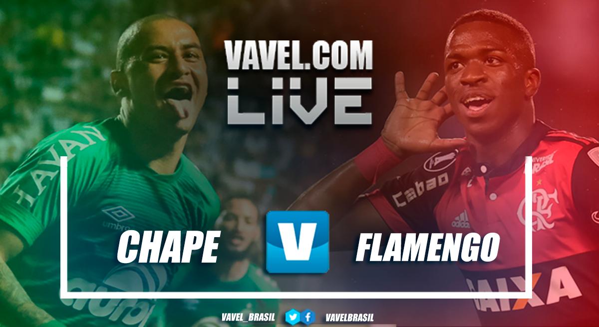 Resultado Chapecoense x Flamengo pelo Campeonato Brasileiro (3-2)