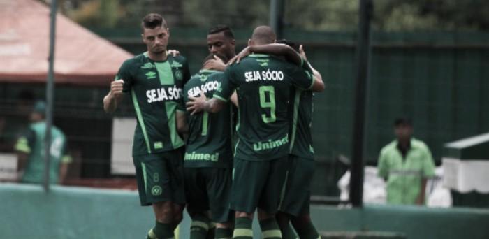 Resultado Chapecoense x Defensa y Justicia pela Copa Sul-Americana (1(4)-(2)0)