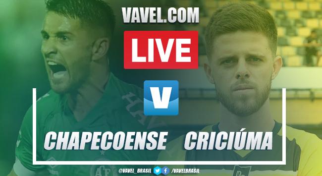 Gols e melhores de Chapecoense 1 x 1 Criciúma pelo Campeonato Catarinense 2020