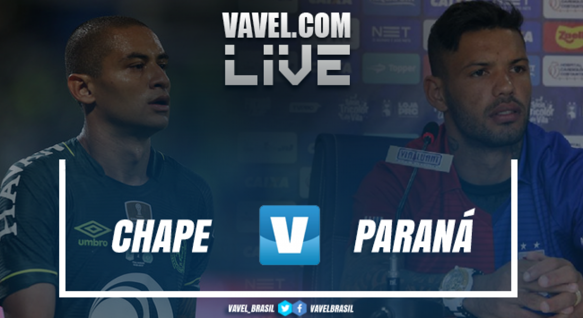 Resultado Chapecoense x Paraná no Campeonato Brasileiro 2018 (1-1)