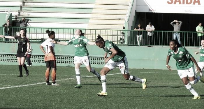 Em jogo de cinco gols, Chapecoense vence e avança na Copa do Brasil feminina