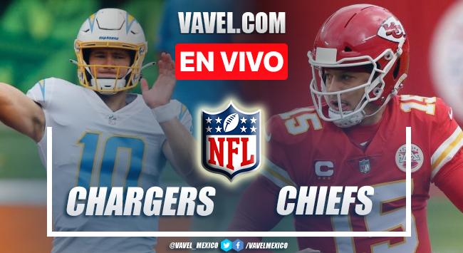 Resumen y anotaciones del Chargers 30-24 Chiefs en NFL 2021