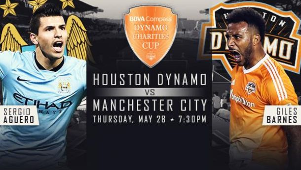 Manchester City To Play Houston Dynamo in Charities Cup