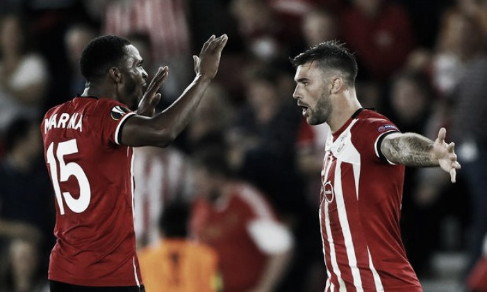 Southampton 3-0 Sparta Prague: The Saints are victorious in their opening Europa League game