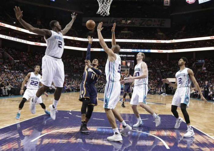 NBA - Charlotte sul velluto: Pacers sconfitti 100-88