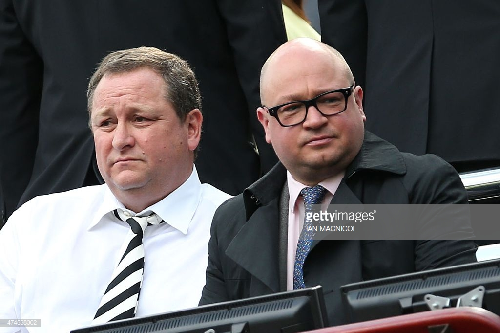 Lee Charnley thanks Benitez for his patience