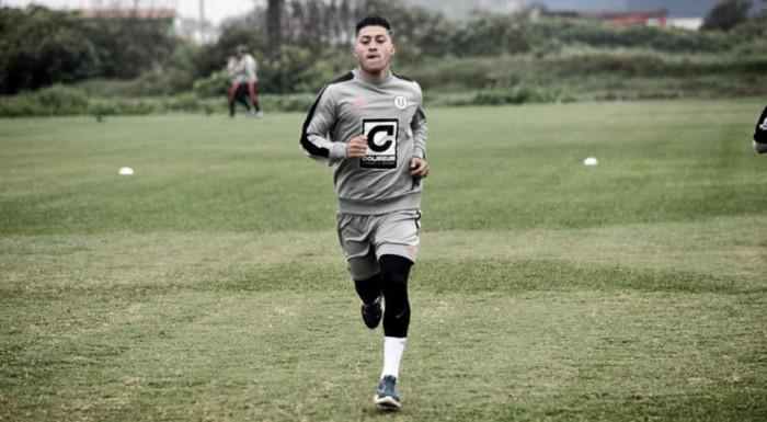 Universitario: Daniel Chávez ya entrena con el plantel 'crema'
