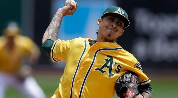 Toronto Blue Jays Acquire Jesse Chavez From Oakland Athletics