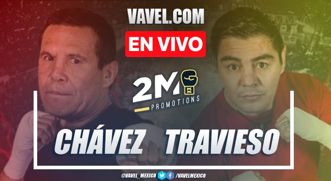 Resumen De La Pelea Julio Cesar Chavez Vs Jorge Travieso Arce En Box 2020 26 09 2020 Vavel Mexico