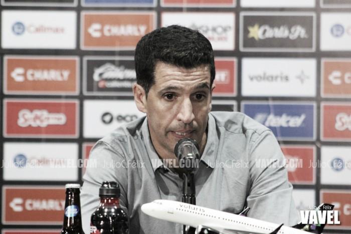 """Gustavo Díaz: """"Hicimos un mal partido"""""""