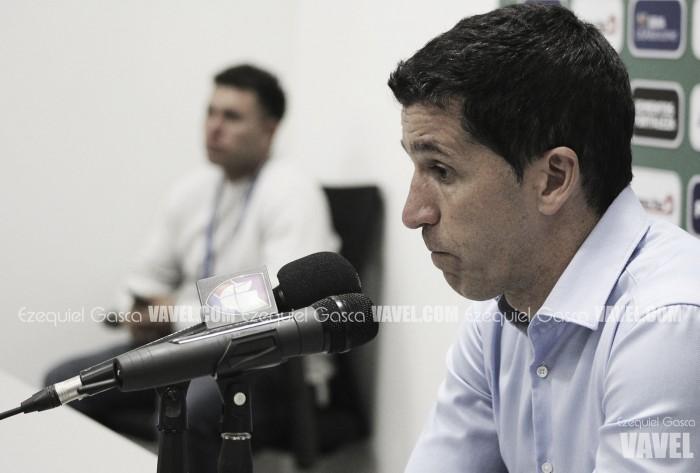 """Gustavo Díaz: """"El equipo lo volvió a hacer bien"""""""