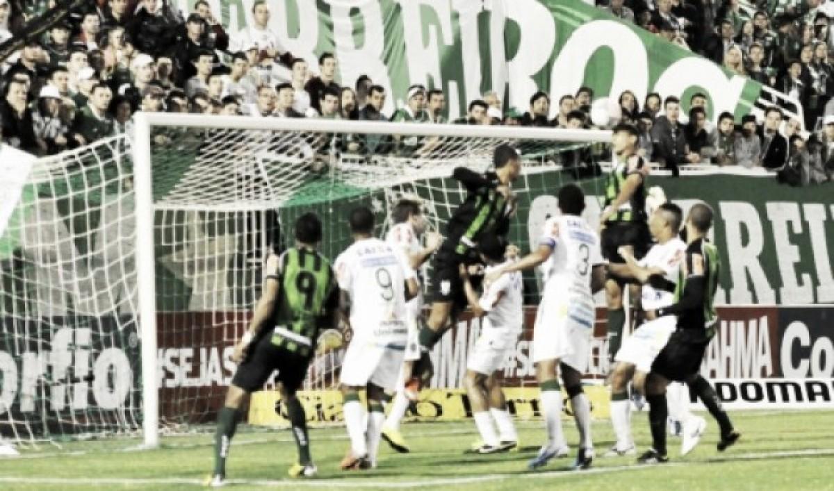 América-MG e Chapecoense empatam pelo Campeonato Brasileiro 2018 (0-0)