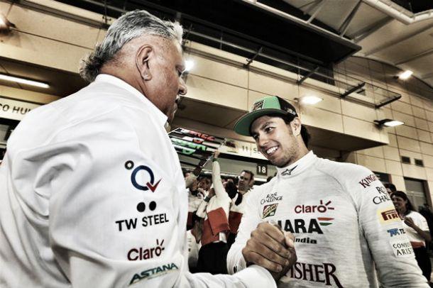 Vijay Mallya quer Sergio Perez na Force India em 2015