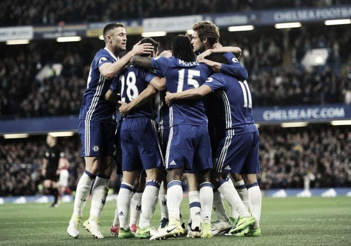Premier League, tris del Chelsea al Middlesbrough: titolo ad un passo [FOTOGALLERY]