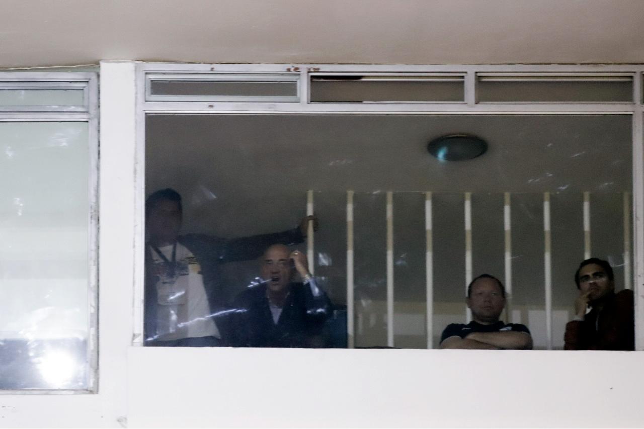 Captan a 'Chelís' en el Cuauhtémoc durante Copa MX